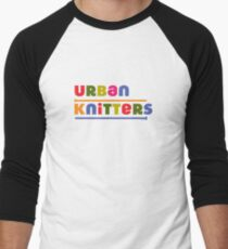Urban Knitters - golden Men's Baseball ¾ T-Shirt