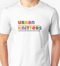 Urban Knitters - golden Unisex T-Shirt