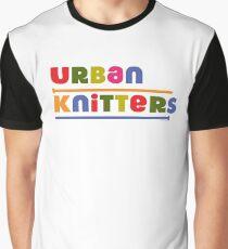 Urban Knitters - golden Graphic T-Shirt