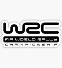 WRC rally logo Sticker