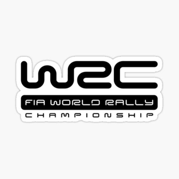 Logotipo de rally WRC Pegatina