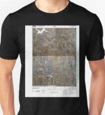 USGS TOPO Maps Iowa IA Oakland Acres 20100511 TM Unisex T-Shirt
