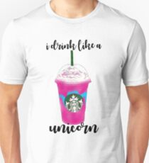 I Drink Like A Unicorn Unisex T-Shirt
