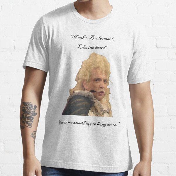 Flashheart to Baldrick the Bridesmaid: Essential T-Shirt