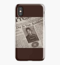 Never Kill A Boy on the First Date - BtVS iPhone Case