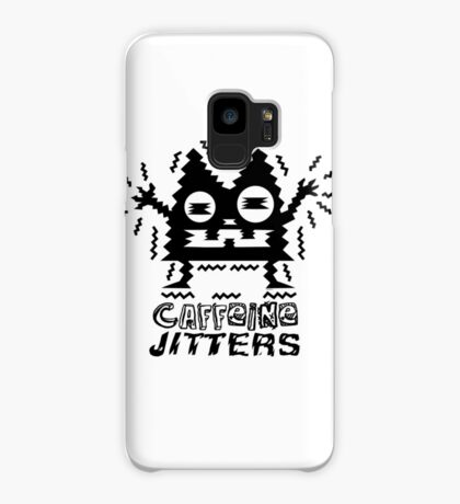 caffeine jitters - cat Case/Skin for Samsung Galaxy