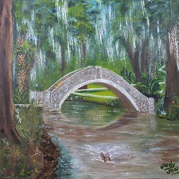 Langles Bridge City Park Bayou Bridge by Judycj