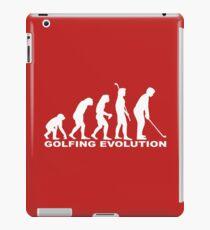 Golfing Evolution iPad Case/Skin