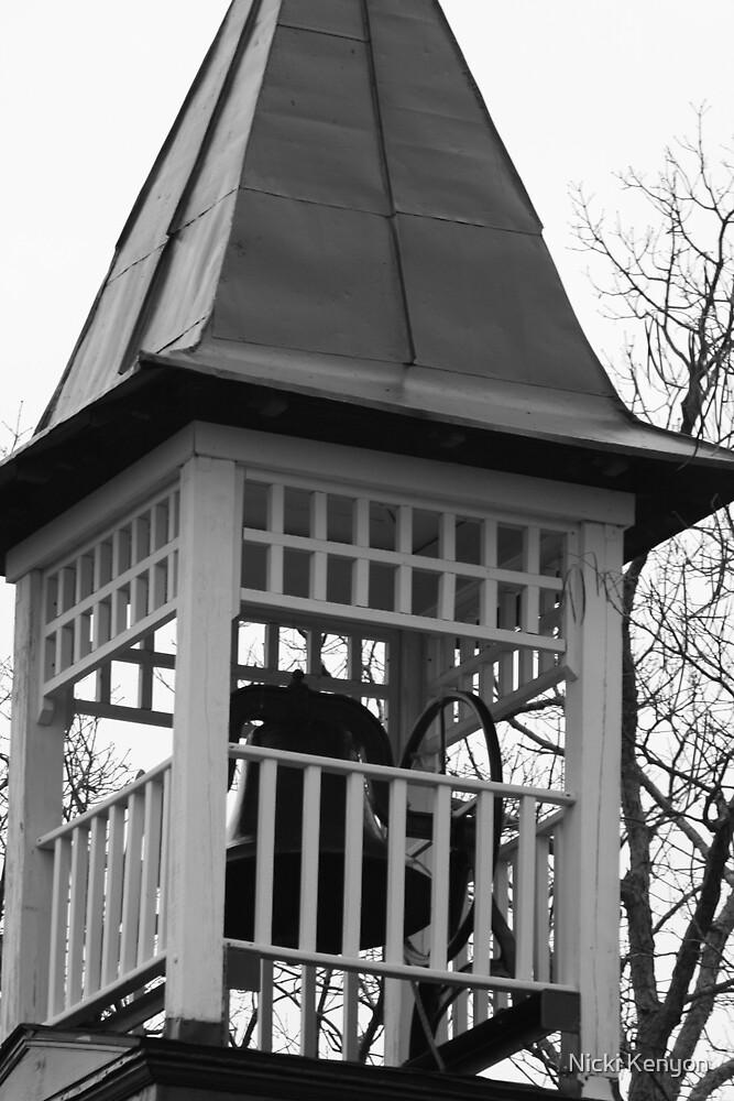 church tower  by Nicki Kenyon