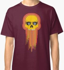 The Incredible Melting Skull Classic T-Shirt