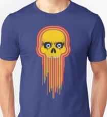 The Incredible Melting Skull Unisex T-Shirt