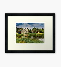 Old Barn in Kingsburg Framed Print