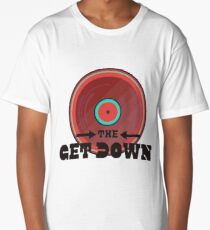 THE GET DOWN (RED) Long T-Shirt