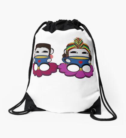 STPC: Naka Do & Oyo Yo (Tea) Drawstring Bag