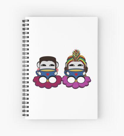 STPC: Naka Do & Oyo Yo (Tea) Spiral Notebook