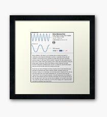 Music Review Framed Print
