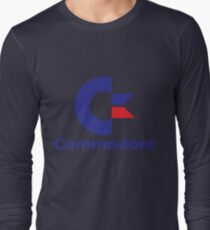 Commodore Computers Long Sleeve T-Shirt