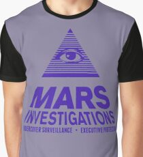Mars Investigations Graphic T-Shirt