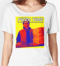 Pizza Time Spiderman 2 Meme  Women's Relaxed Fit T-Shirt