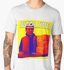 Pizza Time Spiderman 2 Meme  Men's Premium T-Shirt