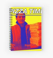 Pizza Time Spiderman 2 Meme  Spiral Notebook