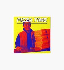 Pizza Time Spiderman 2 Meme  Art Board