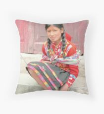 Sweet Yolanda  Throw Pillow