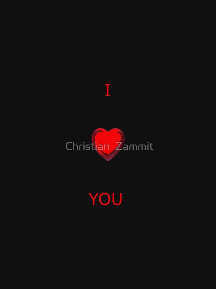 I LOVE YOU by sbosic
