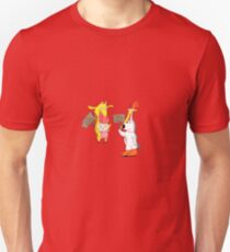 cartoon mash-up  Unisex T-Shirt