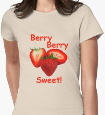 Berry Berry Sweet! Women's Fitted T-Shirt