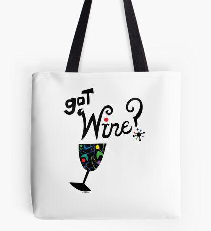 got wine? retro  Tote Bag