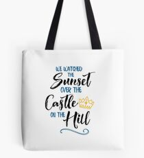 Over The Castle on The Hill Tote Bag