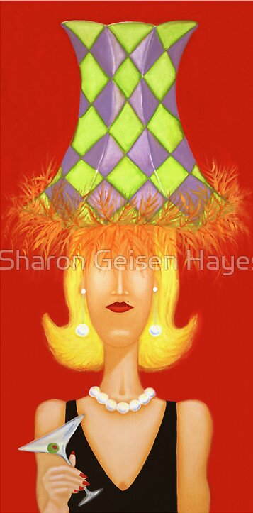 """Great Party Buffy"" by Sharon Geisen Hayes"