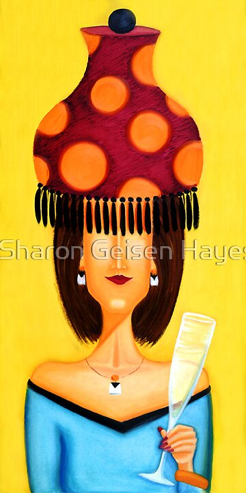 """Fabu Party Buffy"" by Sharon Geisen Hayes"