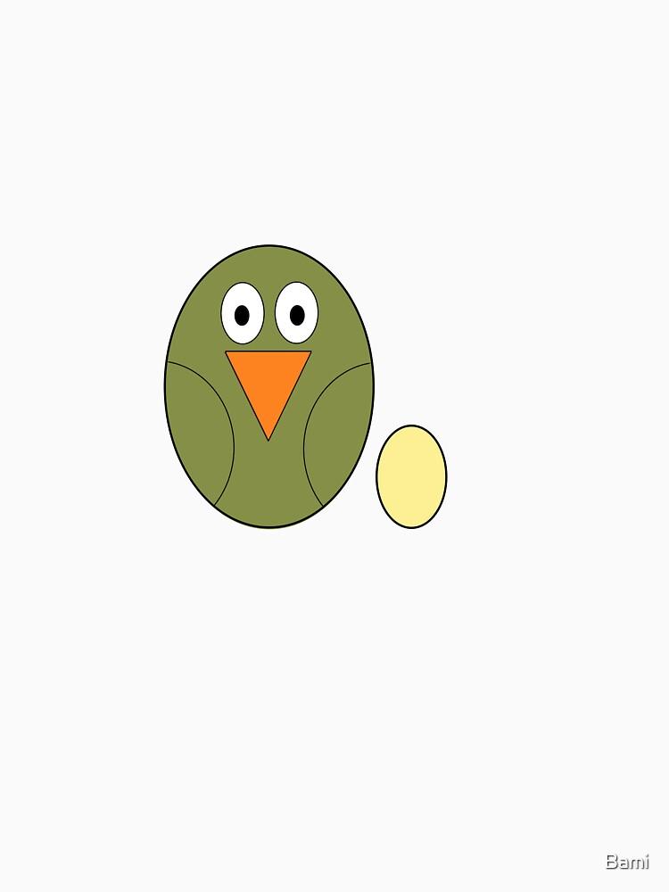 Mumma Bird by Bami