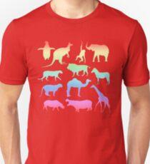 Wild Animals - Neon Unisex T-Shirt