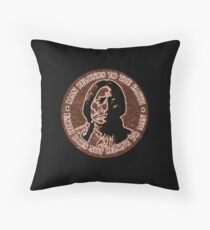 COPPER CHIEF SITTING BULL  #standwithstandingrock Throw Pillow