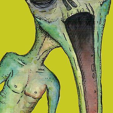 Longface - Scream by Gnomenfrau