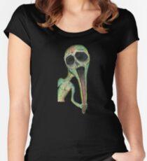 Longface - Scream Women's Fitted Scoop T-Shirt