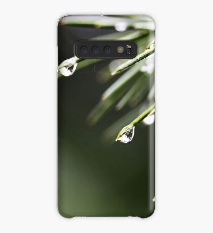 Regen und Pinien Hülle & Klebefolie für Samsung Galaxy