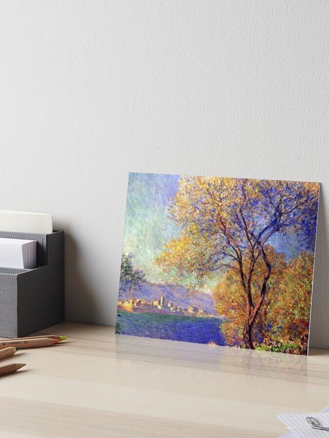 10x8 In Antibes by Claude Monet Art Print