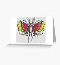 Thee MOTHMAN Greeting Card