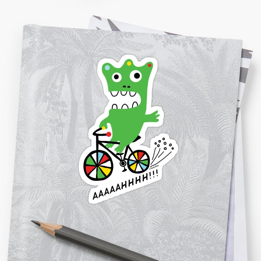 Critter Bike maize by Andi Bird