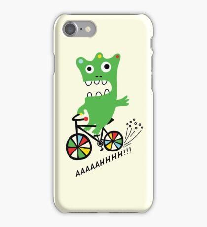 Critter Bike maize iPhone Case/Skin