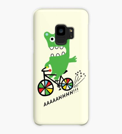 Critter Bike maize Case/Skin for Samsung Galaxy