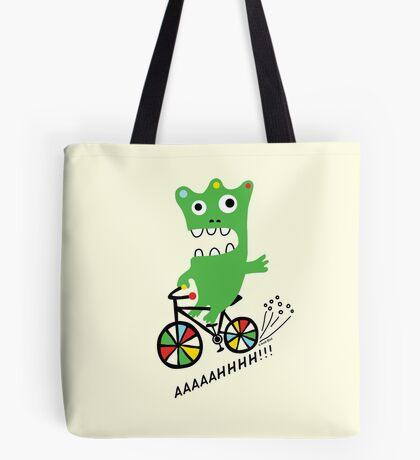 Critter Bike maize Tote Bag