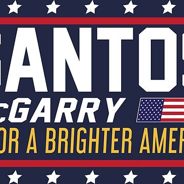 Santos and McGarry Campaign Poster from West Wing by Amandakt