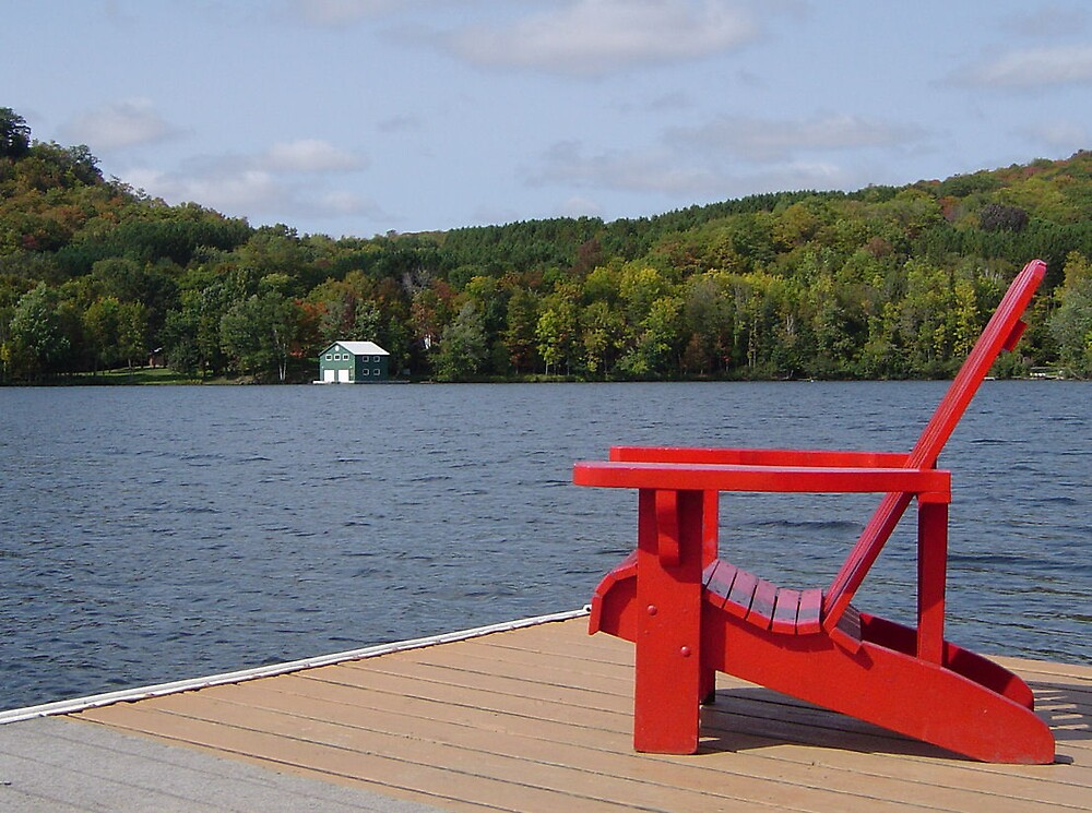 Muskoka chair, Canada by chadg