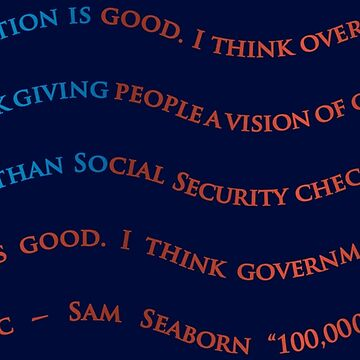 Sam Seaborn West Wing quote, 100,000 Airplanes by Amandakt