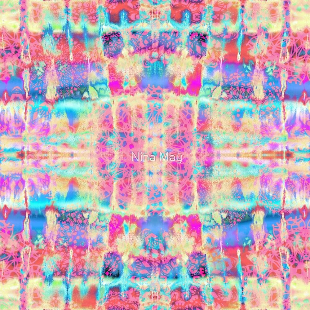 Rainbow Lace Tie-Dye by Nina May